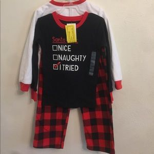 Carters new with tags two Christmas outfits